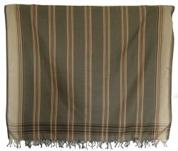 Kikoy Light Olive Striped_S307