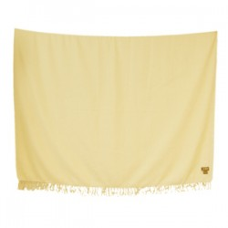 Marini Sarong (Two Tone) Light Yellow/White