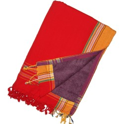 Kikoy Towel Orange Red