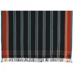 Striped Kikoy Night Black MKS236