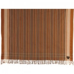 Swara Safari Tanned Brown/Cream Multi-Striped