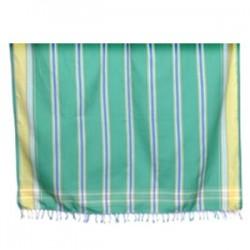 Striped Kikoy Parrot Green MK238