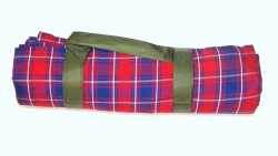 Cotton Picnic Blanket With Waterproof Lining