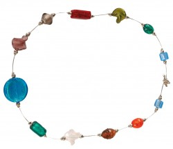 *SPECIAL OFFER* Foil Glass Beaded Necklace