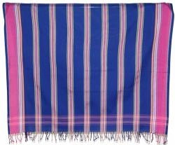 Kikoy Royal Blue Stripe_S235