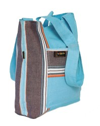 Beach Bag_Soft Cyan