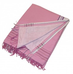 Kikoy Beach Towel Pink_359/3