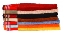 Kikoy Beaded Bath Towels