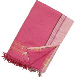 Kikoy Towel Two Tone Pink