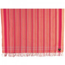 Swara Kikoy Orange/Peach Multi-Striped