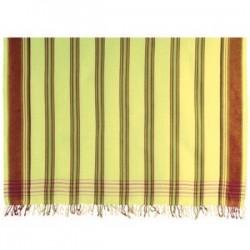 Kikoy Light Lime Striped
